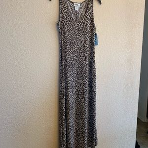 JBS LTD Floor Length Dress animal maxi